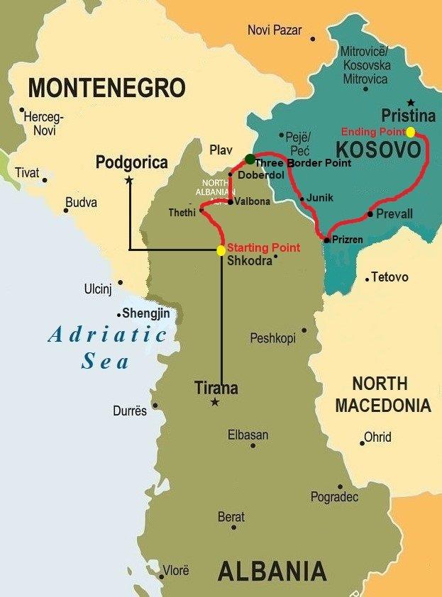 Balkans tour Via Dinarica
