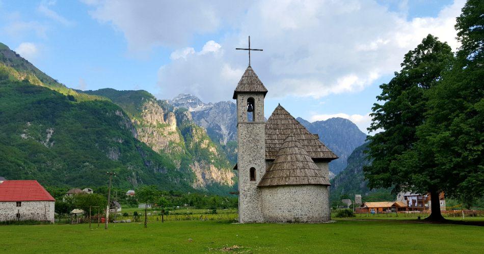 The church of Theth